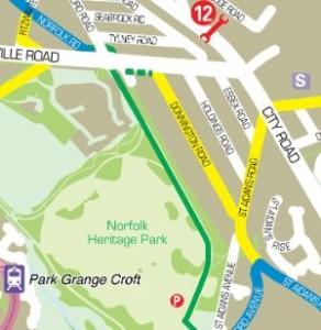 Sheffield Cycle Map