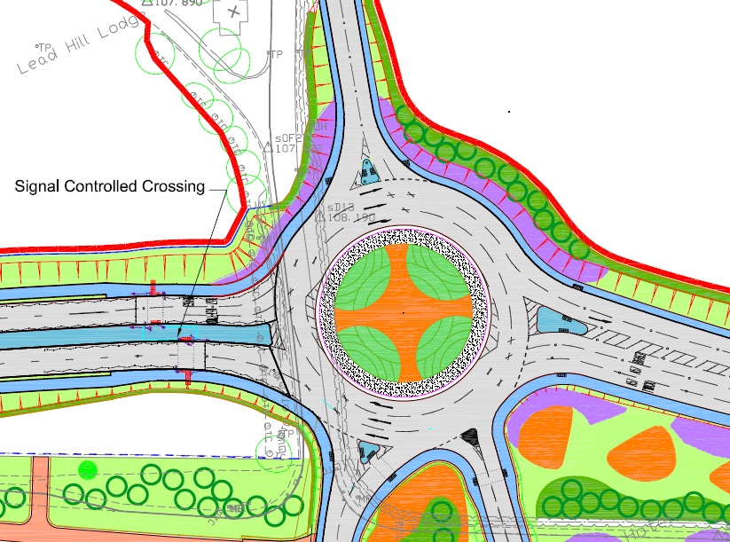 A57 New Roundabout
