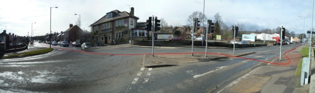The Common, Ecclesall, Sheffield, Cycle Infrastracture