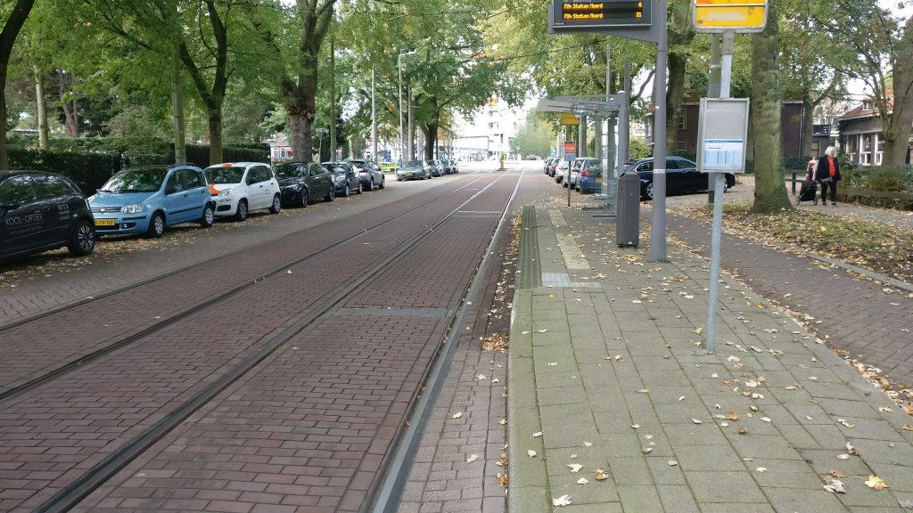 Liduinaplein - Tram stop bypass