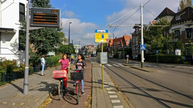 Station Noord - Tram stop bypass